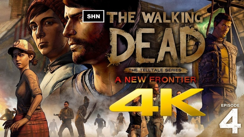 The Walking Dead A New Frontier | Episode 4 | 4K Ultra HD | Walkthrough Gameplay No Commentary