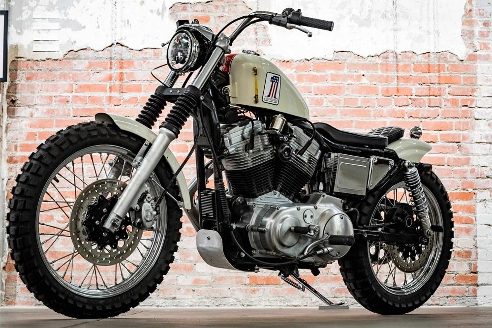 Hageman Motorcycles: кастом Harley-Davidson XL1200 Sportster 1995