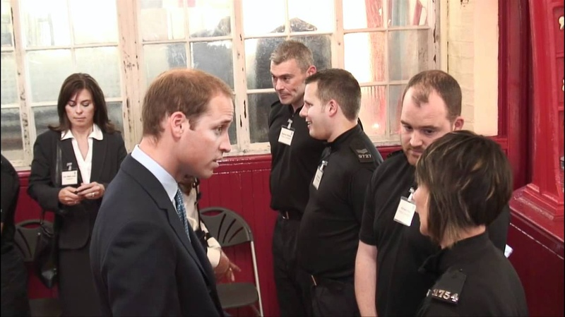The Duke and Duchess of Cambridge visit Birmingham after the recent riots