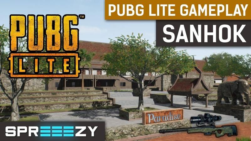 PUBG Lite SANHOK Gameplay FPP | EU SERVERS | 300 FPS | Very Low Settings | GTX 1080ti i7-8700k