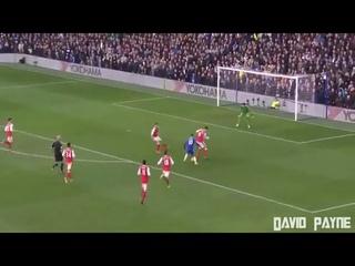 Eden hazard solo goal VS Arsenal