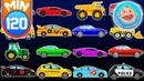 Мультики про Машинки - Рабочие машины в городе - Сборник для детей