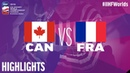 Canada vs. France - Game Highlights