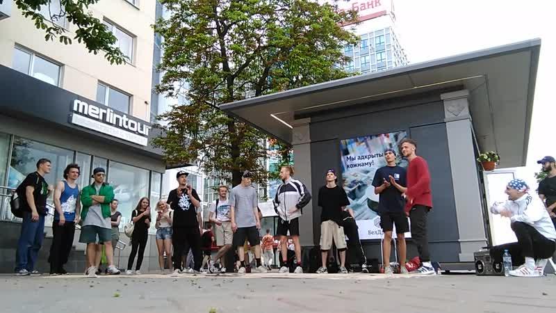 STREET BREAK DANCE JAM [part 1]_Minsk_Belarus _7 June 2019_Nemiga street_