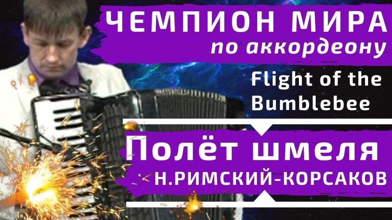 Полёт Шмеля - Н.А. Римский-Корсаков за 60 секунд на аккордеоне