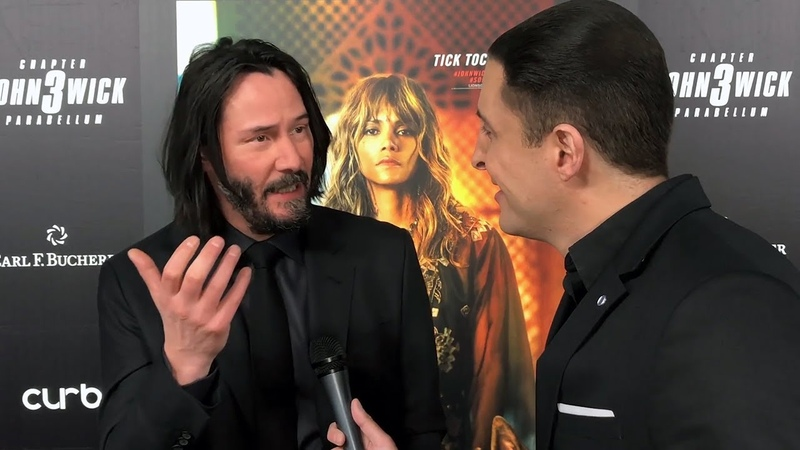 Actor Keanu Reeves discusses hockeys impact on his youth on NHL Celebrity Wrap