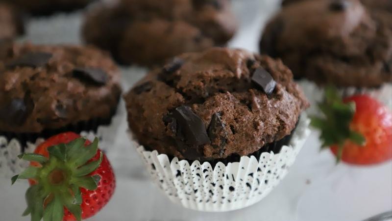 Շոկոլադով Մաֆին Chocolate Chip Muffins Հեղինե Heghineh Cooking Show in Armenian