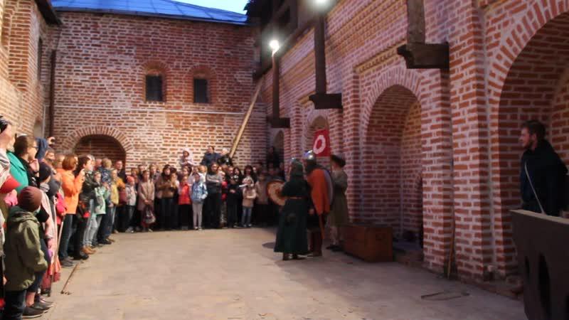 Ночь музеев, театрализация Восстание волхвов 4