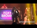 Foxy Brown performs Live on Stage at Kandi's Welcome To The Dungeon Tour in NYC at Terminal 5