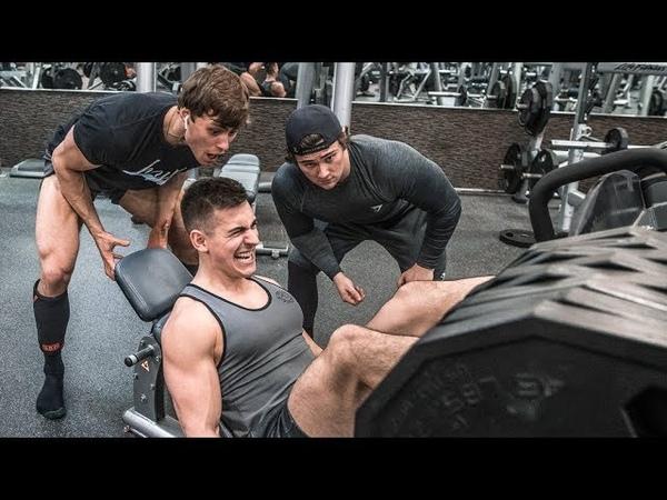 BRUTAL Squat Challenge w Faze Censor Dylan Mckenna