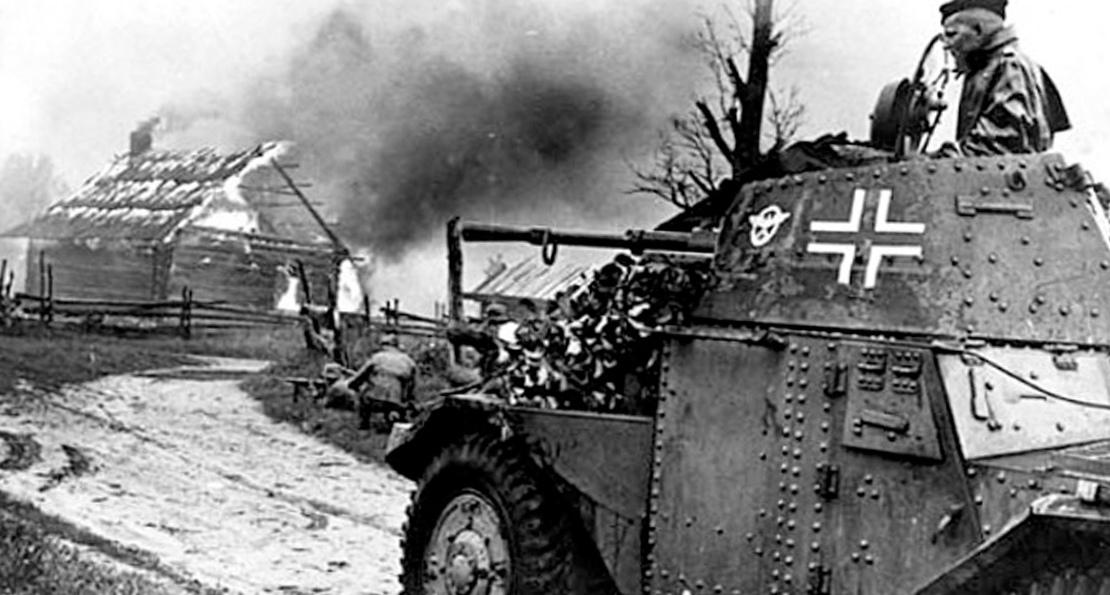 Бронетехника немцев