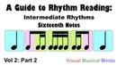 A Guide to Rhythm Reading: Intermediate Rhythms Part 2: Sixteenth Notes
