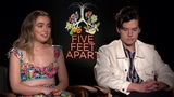 Haley Lu Richardson &amp Cole Sprouse on Five Feet Apart