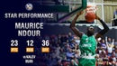 Единая баскетбольная лига матчи 11 19 гг Maurice Ndour Stuns Kalev in Game 1 23 PTS 12 REB Second Best in Playoff Hist