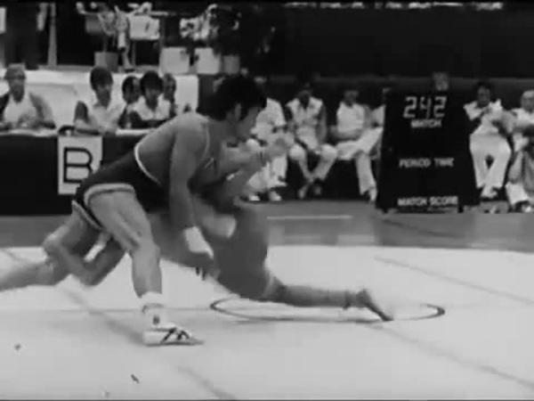 Вольная борьба. Техника ведущих спортсменов мира (СССР, 1982)