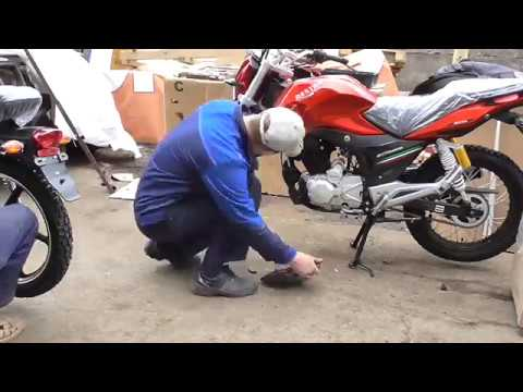 Сборка мотоцикла DESTRA 150
