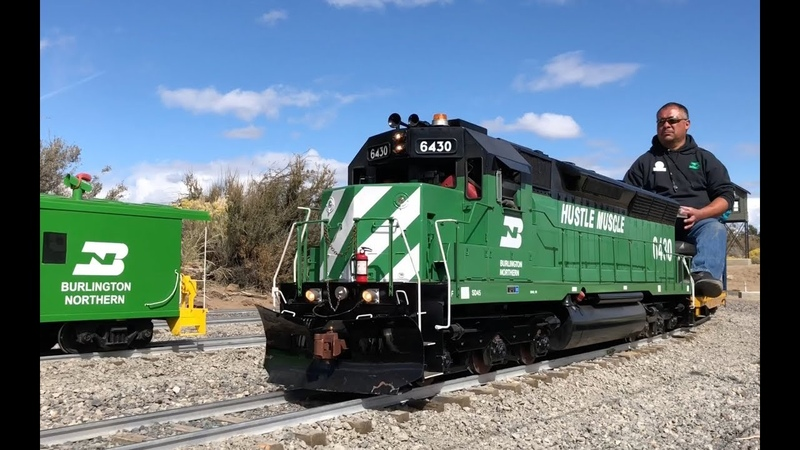 Live steam diesel 7.5 extravaganza at the Eastern Cascades Railroad in Bend, OR