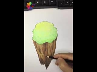 Простое волшебство 3d рисования