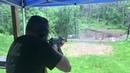 Ударная волна от АК рассеивает дождь/Shooting a Draco AK