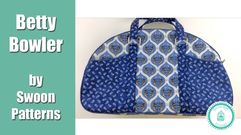 Betty Bowler Bag by Swoon Patterns Full Tutorial