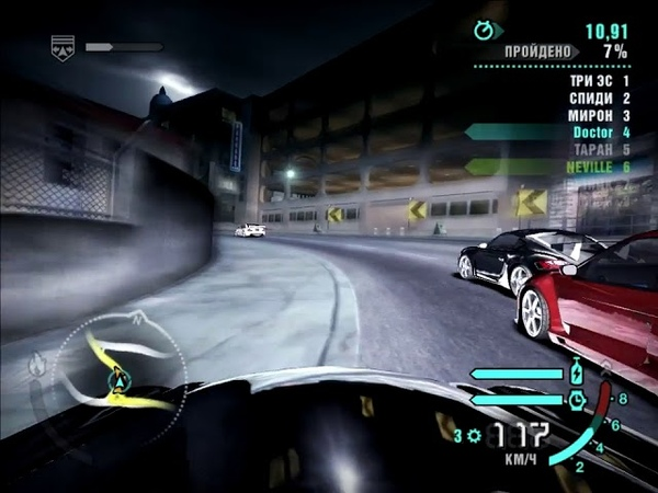 NFS Carbon - Mercedes-Benz SL65 AMG (Призовая) - Бульвар Линкольна (Спринт)
