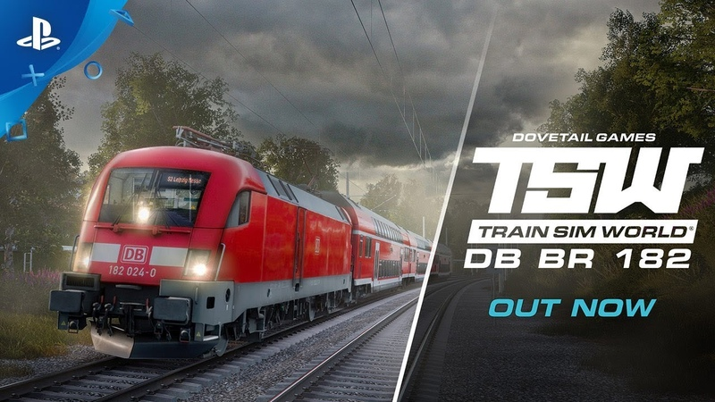 Train Sim World: DB BR 182 | Launch Trailer | PS4