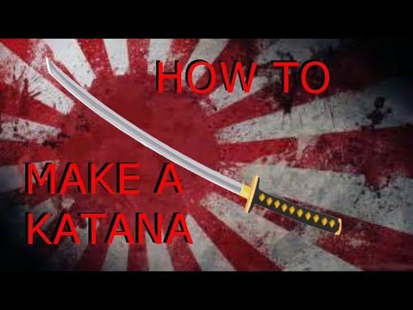 How to make a Katana prop