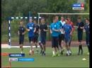 Игроки футбольного клуба «Новосибирск» приступили к тренировкам