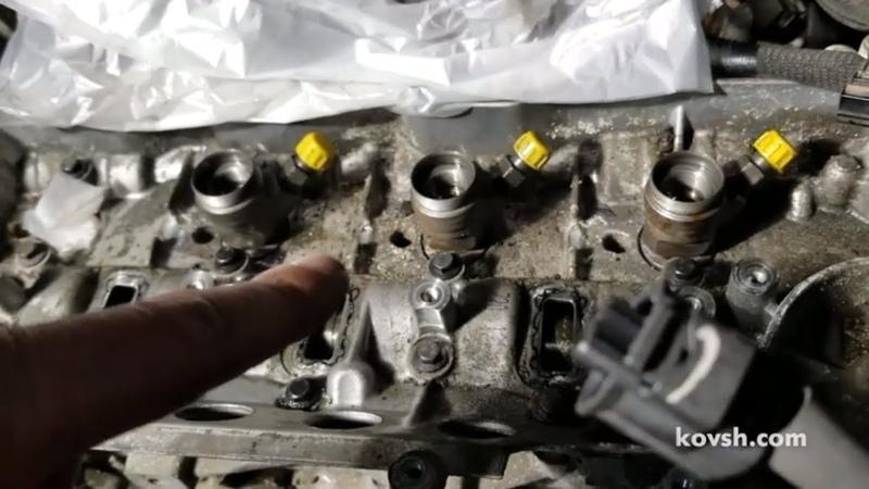 Закисают форсунки на Renault Master III 2.3d, YS23