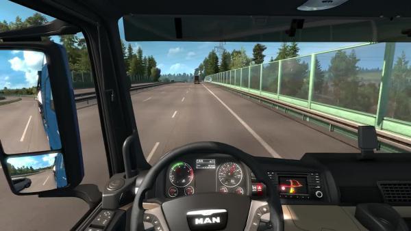 Euro Truck Simulator 2 Въезд в Кассель Kassel