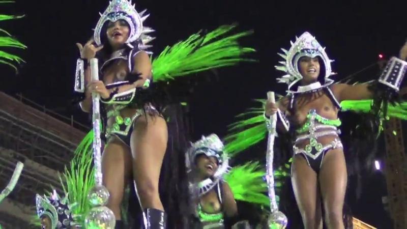 Carnival Parade Sambódromo Rio de Janeiro | Samba at the Copacabana | Der HON Circle