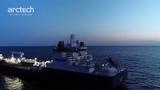 Sea Trials of the Arctic Tanker NB 515