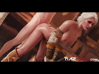 Ciri fucked from behind (the witcher sex)