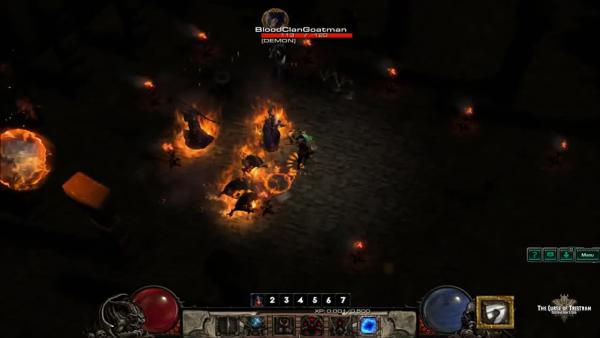 Трейлер бета тестирования фанатского ремейка Diablo 2