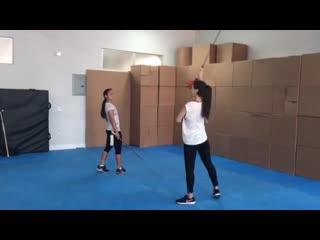 Instagram: Тренировка Джессики Хенвик - 2