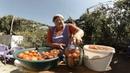 ОХРЕНЁННЫЕ КВАШЕНЫЕ ПОМИДОРЫ с яблоками и арбузами