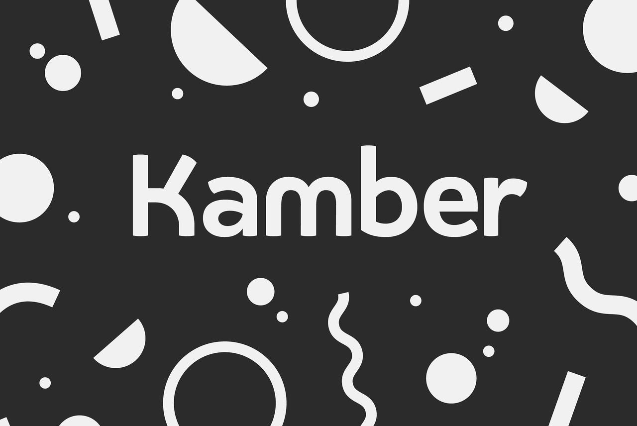 Шрифт - Kamber