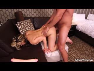 Секс с горячей зрелой женщиной (sex blowjob milf anal hot big tits минет анал по