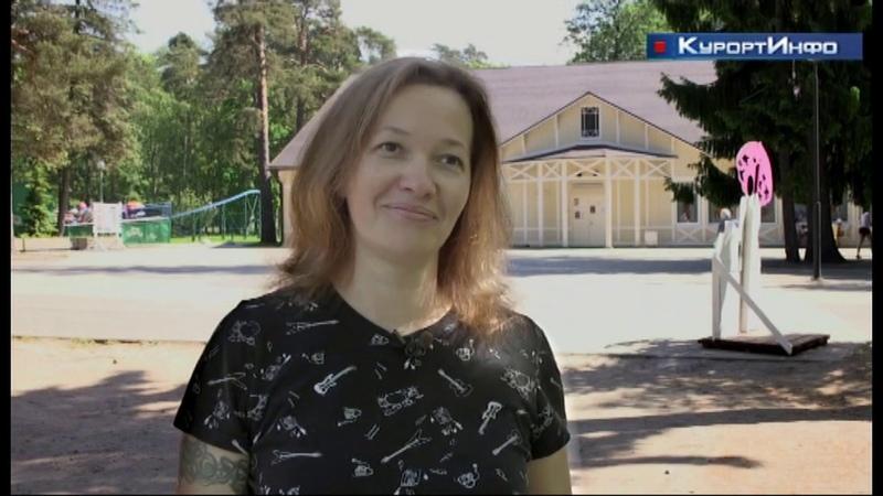 Акция Коробка героев в Зеленогорском парке культуры и отдыха
