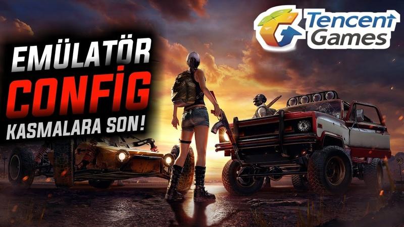 PUBG MOBİLE KASMA SORUNUNA ARTIK SON ! EMÜLATOR EFSANE PATATES CONFİG! (Tencent Gaming Buddy 12.0)
