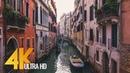 4K Documentary Film Venice Walking Tour 1 HR