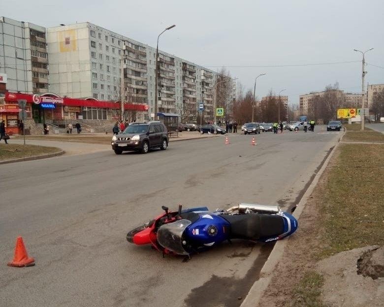 Мотоциклист насмерть сбил ребёнка (7 апреля, Псков)