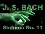 Johann Sebastian BACH Sinfonia No. 11 in G minor, BWV 797