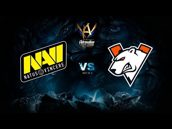 Natus Vincere vs Virtus.pro, Adrenaline Cyber League, bo3, game 3 [Mila Inmate]