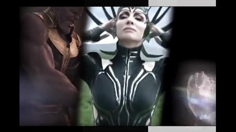 Thanos × Hela × Ultron