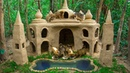 Build Most Beautiful Mud Dog House For Homeless puppy