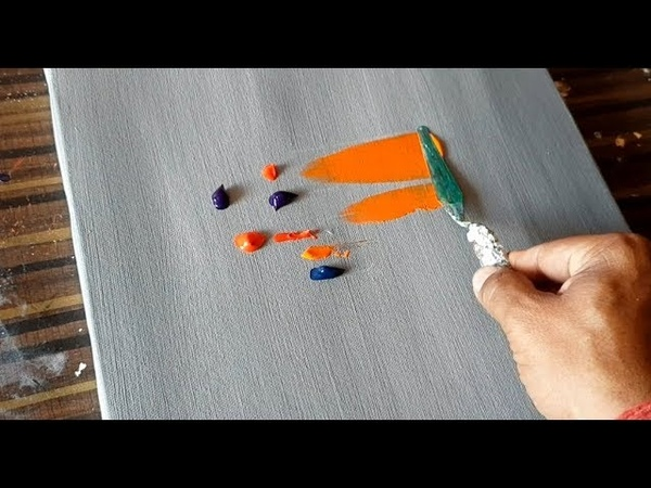 Easy Abstract Painting / Colorscape / Colorful Demo / Satisfying / Project 365 days / Day 0222
