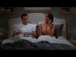 April bowlby - two and a half men (2007) s04e18 nude? underwear! watch online