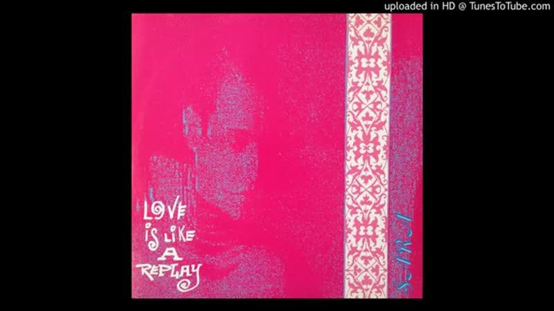 LOVE IS LIKE A REPLAY HI NRGY BEAT SARA 1990