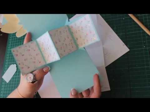 Скрапбукинг конструкция твист-шаблон мастер класс
